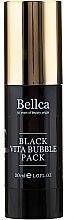 Парфюми, Парфюмерия, козметика Кислородна гел-маска за лице - Bellca Black Vita Bubble Pack