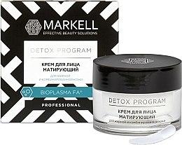Парфюми, Парфюмерия, козметика Матиращ крем за мазна и комбинирана кожа - Markell Cosmetics Detox Program Face Cream