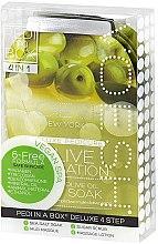 """Парфюми, Парфюмерия, козметика Комплект за педикюр """"Маслина"""" - Voesh Pedi In A Box Deluxe Pedicure Olive Sensation (35 g)"""