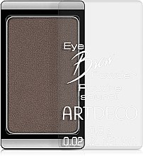 Парфюмерия и Козметика Пудра за вежди - Artdeco Eye brow Powder
