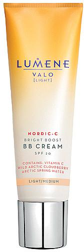Озаряващ BB крем - Lumene Valo Bright Boost BB Cream SPF20