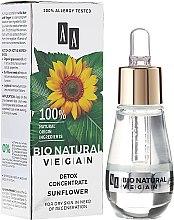 Парфюмерия и Козметика Концентрат деток за лице - AA Cosmetics Bio Natural Vegan Koncentrat Detox