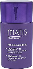 Парфюмерия и Козметика Дневен защитен флуид за лице - Matis Paris Reponse Jeunesse CityProtect Day Fluid SPF 50