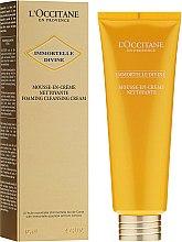 Парфюмерия и Козметика Почистваща крем-пяна за лице - L'occitane Immortelle Precious Face Cream
