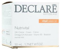 Подхранващ крем 24-часово действие - Declare Nutrivital 24 h Cream — снимка N1