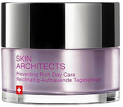 Парфюмерия и Козметика Дневен крем за лице - Artemis of Switzerland Skin Architects Preventing Rich Day Care