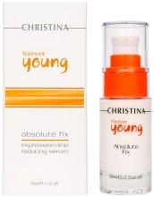 Парфюми, Парфюмерия, козметика Серум за лице против бръчки - Christina Forever Young Absolute Fix