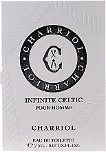 Парфюмерия и Козметика Charriol Infinite Celtic Pour Homme - Тоалетна вода (мостра)