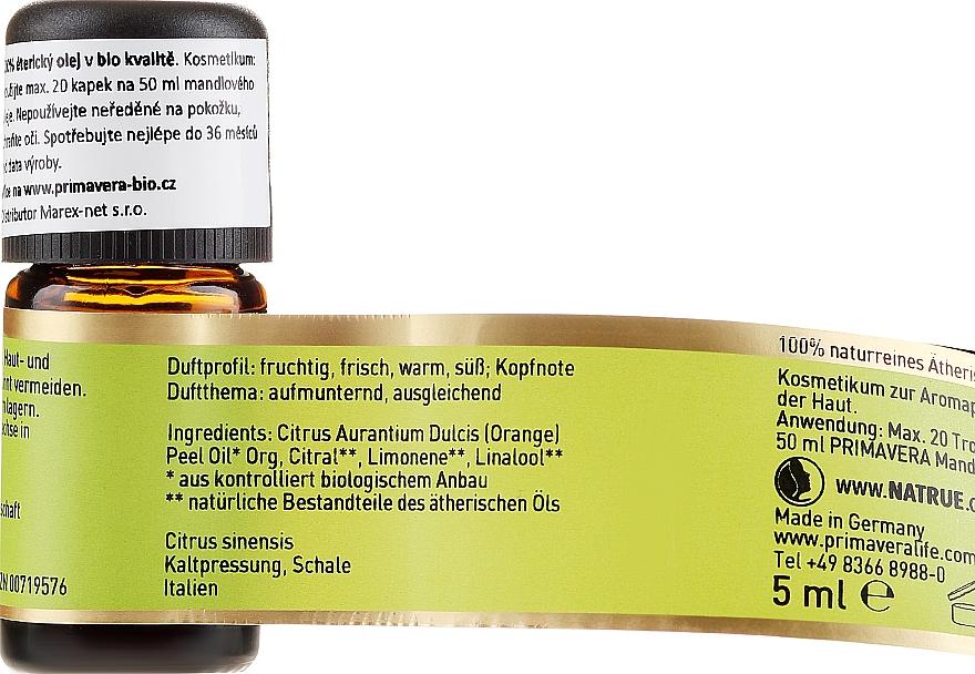 "Етерично масло ""Цитрус"" - Primavera Blood Orange Essential Oil — снимка N2"