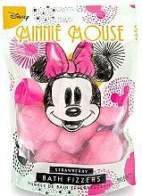 Парфюми, Парфюмерия, козметика Бомбичка за вана с аромат на ягода - Mad Beauty Disney Minnie Mouse Bath Fizzer Strawberry