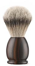 Парфюмерия и Козметика Четка за бръснене, малка - Acca Kappa Apollo Ebony Wood Shaving Brush
