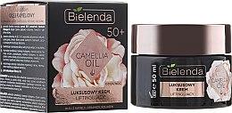 Парфюми, Парфюмерия, козметика Лифтинг-крем против бръчки 50+ - Bielenda Camellia Oil Luxurious Lifting Cream 50+