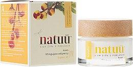 Парфюми, Парфюмерия, козметика Подхранващ лифтинг крем за лице с екстракт от акмела - Natuu SuperLift Face Cream
