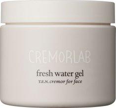 Парфюмерия и Козметика Крем–гел за интензивно овлажняване - Cremorlab T.E.N. Cremor Fresh Water Gel