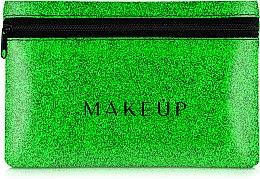 "Парфюми, Парфюмерия, козметика Силиконов несесер ""Glitter Pouch"", 18х11см - MakeUp"