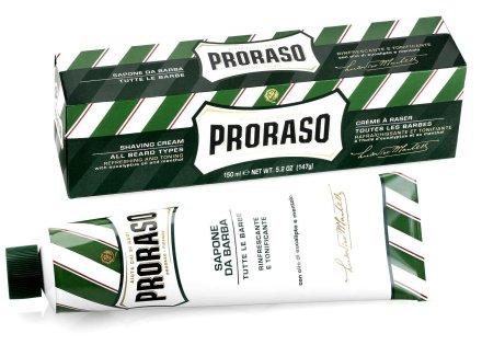 Крем за бръснене с ментол и евкалипт - Proraso Green Shaving Cream — снимка N3