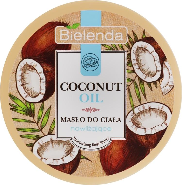 Хидратиращо масло за тяло - Bielenda Coconut Oil Moisturizing Body Butter — снимка N1