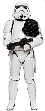 """Парфюмерия и Козметика Пяна за вана """"Star Wars"""" - Disney Star Wars Stormtrooper Bath Foam"""