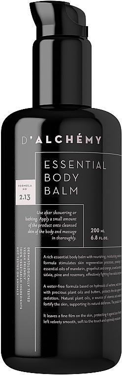 Балсам за тяло - D'Alchemy Essential Body Balm — снимка N1