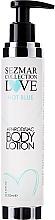 Парфюмерия и Козметика Лосион за тяло - Sezmar Collection Love Hot Blue Aphrodisiac Body Lotion