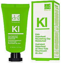 Парфюми, Парфюмерия, козметика Подхранващ и хидратиращ дневен крем за лице - Dr. Botanicals Kale Superfood Nourishing Day Moisturiser