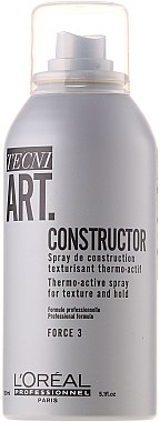 Текстуриращ термо-спрей - L'Oreal Professionnel Tecni.art Constructor Thermo-Active Spray