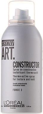 Текстуриращ термо-спрей - L'Oreal Professionnel Tecni.art Constructor Thermo-Active Spray — снимка N1