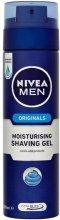 """Парфюми, Парфюмерия, козметика Хидратиращ гел за бръснене """"Класически"""" - Nivea For Men Shaving Gel"""
