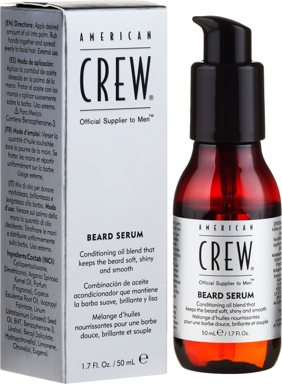 Серум за брада - American Crew Official Supplier to Men Beard Serum
