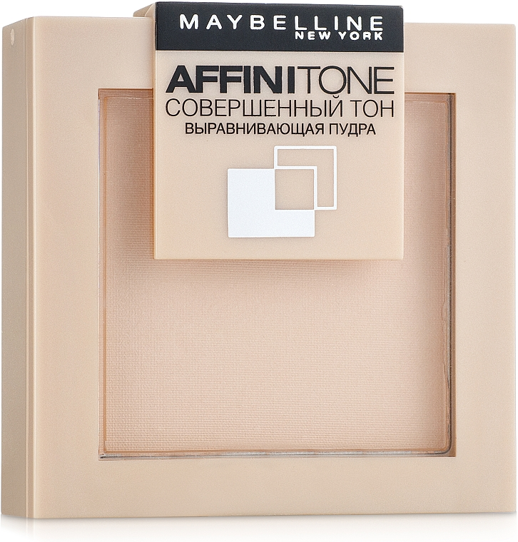 Пудра за лице - Maybelline Affinitone Powder — снимка N5
