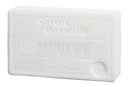 """Парфюмерия и Козметика Натурален сапун """"Момина сълза"""" - Le Chatelard 1802 Muguet Soap"""