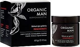 Парфюмерия и Козметика Възстановяващ балсам за след бръснене - Organic Life Dermocosmetics Man
