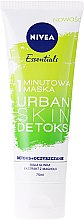 Парфюми, Парфюмерия, козметика Детокс маска за лице - Nivea Essentials 1-Minute Urban Skin Detox Mask