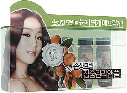 Парфюмерия и Козметика Ампули за коса на основата на арганово масло - Welcos Confume Argan Treatment Hair Ampoule
