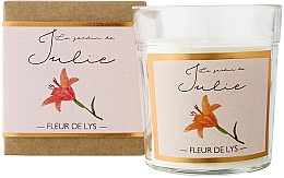 "Парфюмерия и Козметика Ароматна свещ ""Лилия"" - Ambientair Le Jardin de Julie Fleur de Lys"
