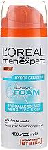 Парфюмерия и Козметика Пяна за бръснене за чувствителна кожа - L'Oreal Paris Men Expert