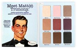 Парфюмерия и Козметика Палитра сенки за очи - theBalm Meet Matt(e) Trimony Matte Eyeshadow Palette