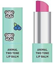 Парфюмерия и Козметика Двуцветен балсам за устни - Animal Two-Tone Lip Balm