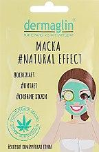 Парфюмерия и Козметика Маска за лице - Dermaglin Natural Effect