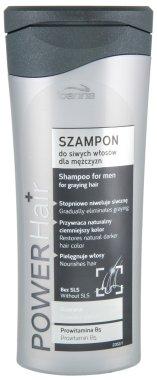 Шампоан за мъже с побелели коси - Joanna Power Graying Hair Shampoo For Men