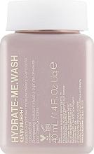 Парфюмерия и Козметика Интезивно хидратиращ шампоан за коса - Kevin.Murphy Hydrate-Me Wash Shampoo (мини)