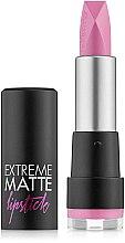 Парфюми, Парфюмерия, козметика Матово червило за устни - Flormar Extreme Matte Lipstick