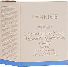 Парфюмерия и Козметика Интензивно възстановяваща нощна маска за устни с ванилия - Laneige Sleeping Care Lip Sleeping Mask Vanilla