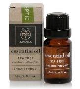 "Парфюми, Парфюмерия, козметика Етерично масло ""Чаено дърво"" - Apivita Aromatherapy Organic Tea Tree Oil"
