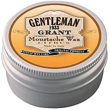 Парфюмерия и Козметика Восък за мустаци - Gentleman Grant Moustache Wax Citrus