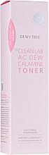 Парфюмерия и Козметика Успокояващ тонер за лице с каламин - Dewytree The Clean Lab AC Dew Calamine Toner