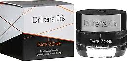 Парфюмерия и Козметика Детоксикираща и ревитализираща маска за лице - Dr Irena Eris Face Zone Black Mud Mask Detoxifying & Revitalising