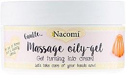 Парфюми, Парфюмерия, козметика Масажен пилинг-гел за ръце - Nacomi Massage Oil-Gel