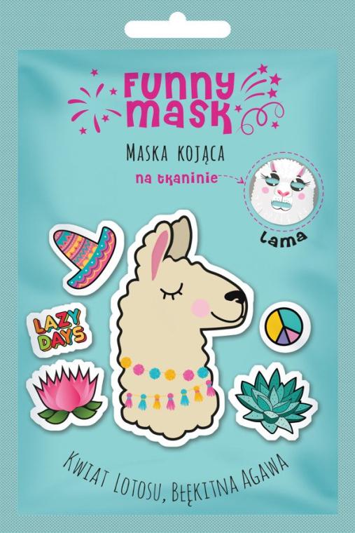 "Успокояваща маска за лице ""Лама"" - Marion Funny Mask Lama"