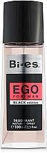 Парфюми, Парфюмерия, козметика Bi-Es Ego Black Edition - Парфюмен дезодорант спрей